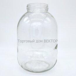 Ёмкости для хранения - Банка стеклянная 3 литра, ТО82, 0