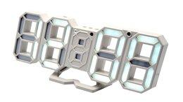 Наручные часы - Часы электронные  8836 USB (белые -цифры), 0