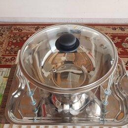 Аксессуары для грилей и мангалов - Садж-мармит,всегда горячий шашлык, 0