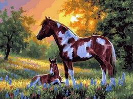 Раскраски и роспись - Картины по номерам Paintboy Лошади с ситцевым…, 0