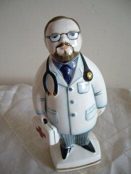 Статуэтки и фигурки - Доктор , медсестра  авторская керамика Вербилки, 0