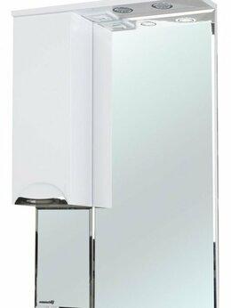 Зеркала - Зеркало-шкаф Альфа 55 L белый, 0
