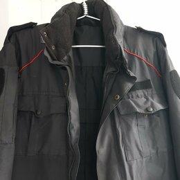 Одежда - Бушлат 48-52 р, полицейский , 0