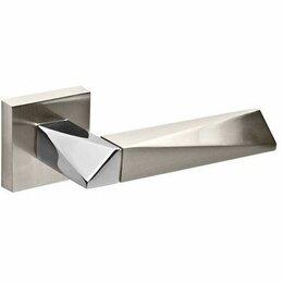 Межкомнатные двери - РУЧКА РАЗДЕЛЬНАЯ FUARO DIAMOND DM SN/CP-3 МАТ.НИКЕЛЬ/ХРОМ, 0