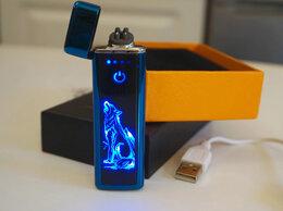 Пепельницы и зажигалки - Зажигалка USB сенсорная Волк, 0