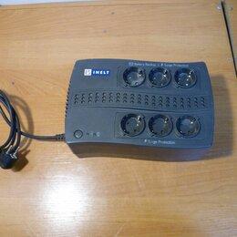 Источники бесперебойного питания, сетевые фильтры - Бесперебойный блок питания INELT Smart Station RX600U, 0