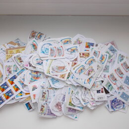 Марки - Марки почтовые разных стран в ассортименте. Б/у, 0