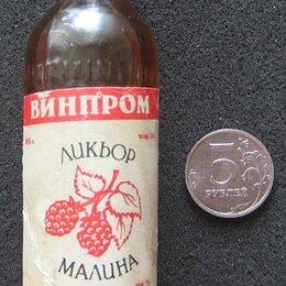 Этикетки, бутылки и пробки - Миниатюрные бутылки для коллекции, 0