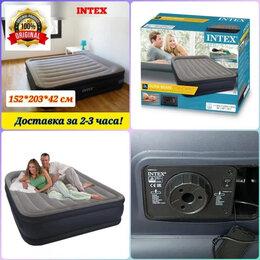 Кровати - Надувные кровати матрасы Intex Sors двуспальные…, 0