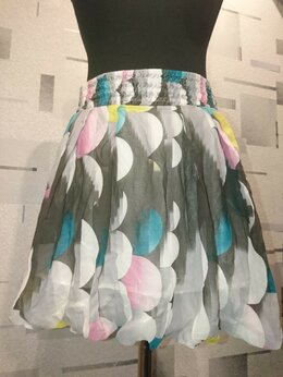 Юбки - Шёлковая юбка, 0