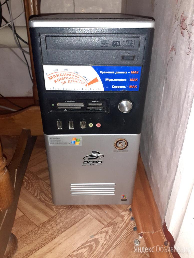Компьютер клавиши монитор по цене 2000₽ - Настольные компьютеры, фото 0