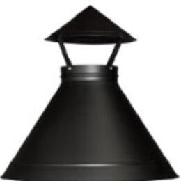 Дымоходы - Дымный купол FINGRILL black D=100, 0
