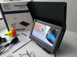 """Эхолоты и комплектующие - Камера 5"""" AHD1080p Starlight подводная для рыбалки, 0"""