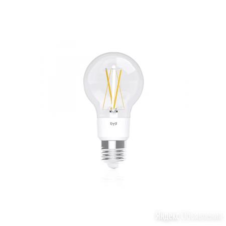 Умная Лампочка Yeelight Smart LED Filament Light (YLDP12YL) по цене 990₽ - Лампочки, фото 0