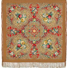 Шарфы и платки - Павлопосадский платок новый 125х125 шерсть, 0