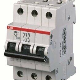 Защитная автоматика - Автоматический выключатель ABB S203P C16, 0