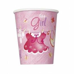 Бокалы и стаканы - Стаканы It's a girl, 6шт, 200мл, 0
