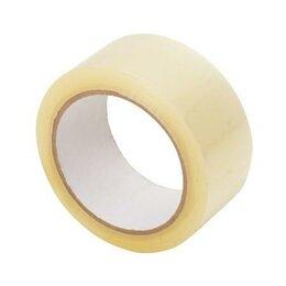 Упаковочные материалы - Скотч стандартный, широкий, коричневый, молярный, 0