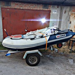 Надувные, разборные и гребные суда - Лодка ПВХ Jetforce надувная двухместная, 0