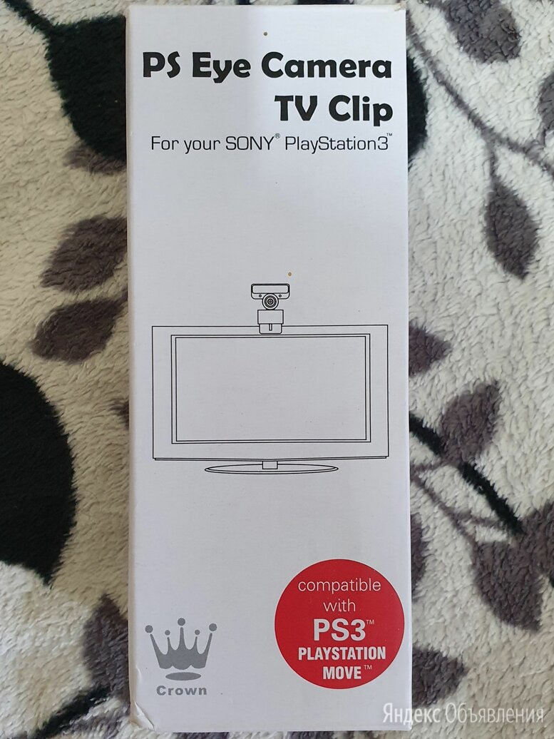 PS Eye Camera TV Clip (PS3) по цене 499₽ - Экшн-камеры, фото 0