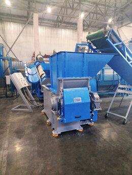 Производственно-техническое оборудование - Одновальный шредер ротор 600 мм для твёрдого…, 0