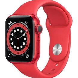 Умные часы и браслеты - Умные часы Apple Watch S6 40mm Alumin Sport…, 0