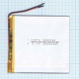 Аккумуляторы - Аккумулятор Li-Pol (батарея) 3*89*92мм 2pin…, 0