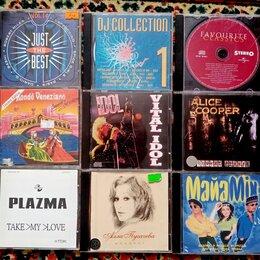 Музыкальные CD и аудиокассеты -  Диски разных жанров, 0