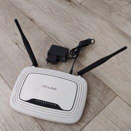 Оборудование Wi-Fi и Bluetooth - Роутер TP-Link 300Mbps + IPTV, 0