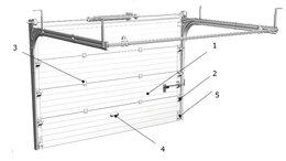 Заборы и ворота - Секционные ворота 4х2м 3х2,5м 4х2,4м 5х2м, 0