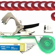 Прочий инвентарь и инструменты - Тапенер для подвязки растений +10000 скоб + 11 лент, 0