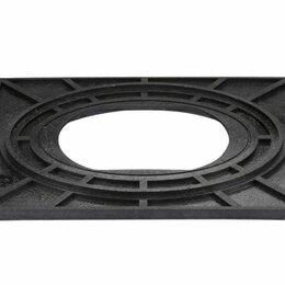 Плиты и варочные панели - 3482 Опорная плита для подземных гидрантов, 0