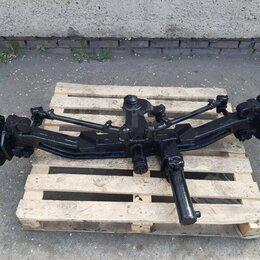 Ходовая  - Подвеска задняя в сборе (мост рулевой) Львовский погрузчик 41015 в Новосибирске, 0