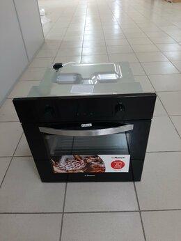 Духовые шкафы - Электрический духовой шкаф Hansa BOES 68454 черный, 0