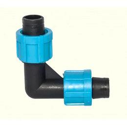 Капельный полив - Фитинг угловой для капельной ленты (SL-002.3), 0