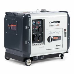 Электрогенераторы - Генератор дизельный Daewoo (Дэу) DDAE 9000SSE, 0