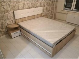 Кровати - 🚚Кровать «Белладжио» дуб сонома/белая, 0