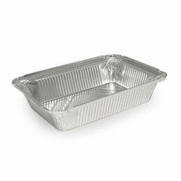 Посуда для выпечки и запекания - Алюминиевая форма прямоугольная объем 780мл L-край 50 шт, 0