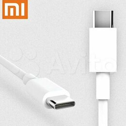 Зарядные устройства и адаптеры - Оригинальный кабель Xiaomi Type C, 0