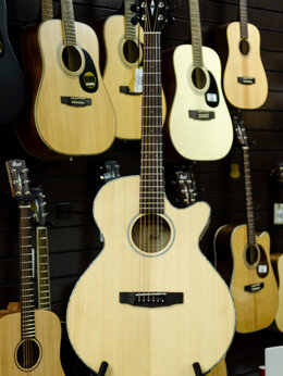 Акустические и классические гитары - Cort SFX-E SFX Series Электро-акустическая гитара, 0