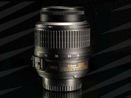 Объективы - Nikon AF-S 18-55 mm VR // 1648 📷, 0