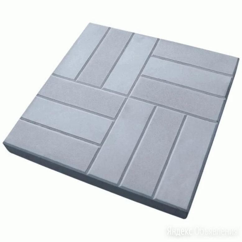 Тротуарная плитка бетонная 500.500.60 «12 кирпичей по цене 180₽ - Тротуарная плитка, бордюр, фото 0