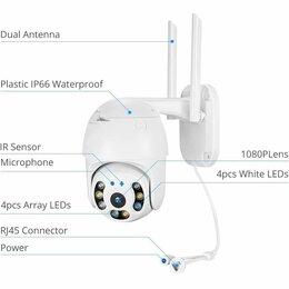 Камеры видеонаблюдения - PTZ Wi-Fi IP-видеокамера, 2MP, 3.6mm. Новая, 0