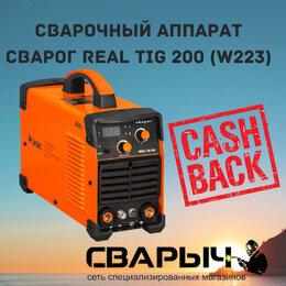 Сварочные аппараты - Сварочный аппарат сварог real TIG 200 (W223), 0