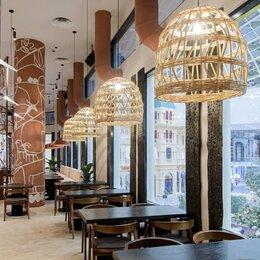 Люстры и потолочные светильники - Купить плетеные люстры светильники для ресторана…, 0