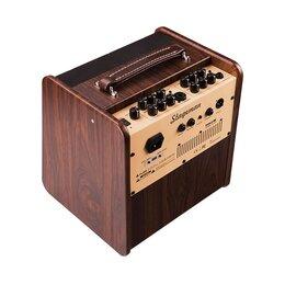 Гитарное усиление - NUX AC50 Stageman Комбоусилитель для акустической гитары, 0