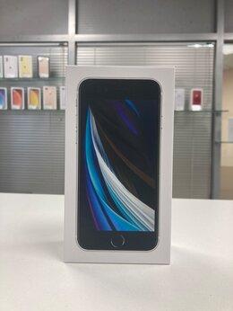 Мобильные телефоны - iPhone SE 2020 64gb White A2296 Ростест, 0