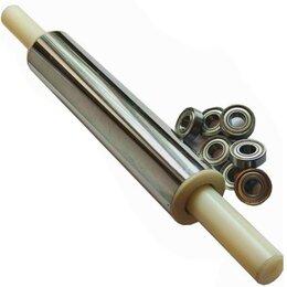 Скалки - Скалка для тонкого теста 40-6см с подшипниками, 0