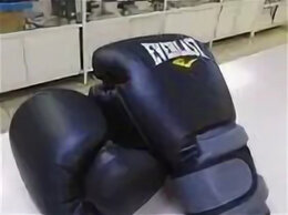 Боксерские перчатки - Боксерские перчатки Everlast б/у, 0