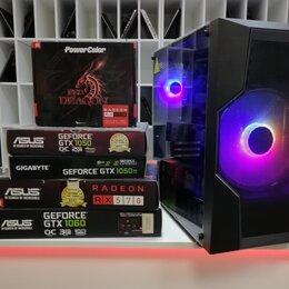 Настольные компьютеры - Игровой Компьютер 12 Ядер, 32Gb Озу, SSD, 0